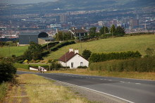 Holywood, Craigantlet hill near Belfast, County Down © Albert Bridge